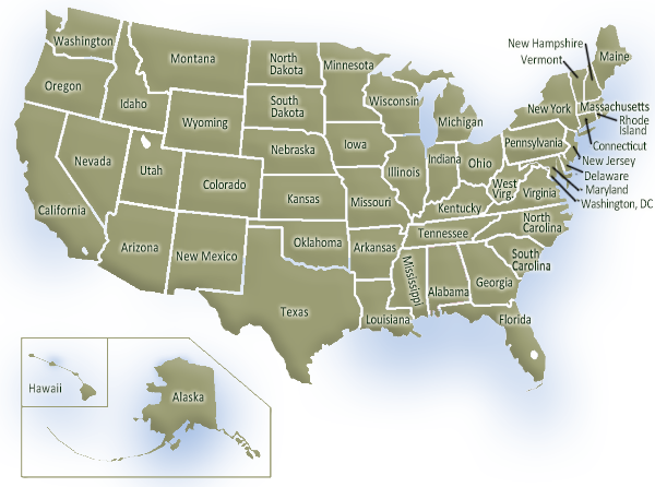 USA map of homeschool requirements (With images) Kansas