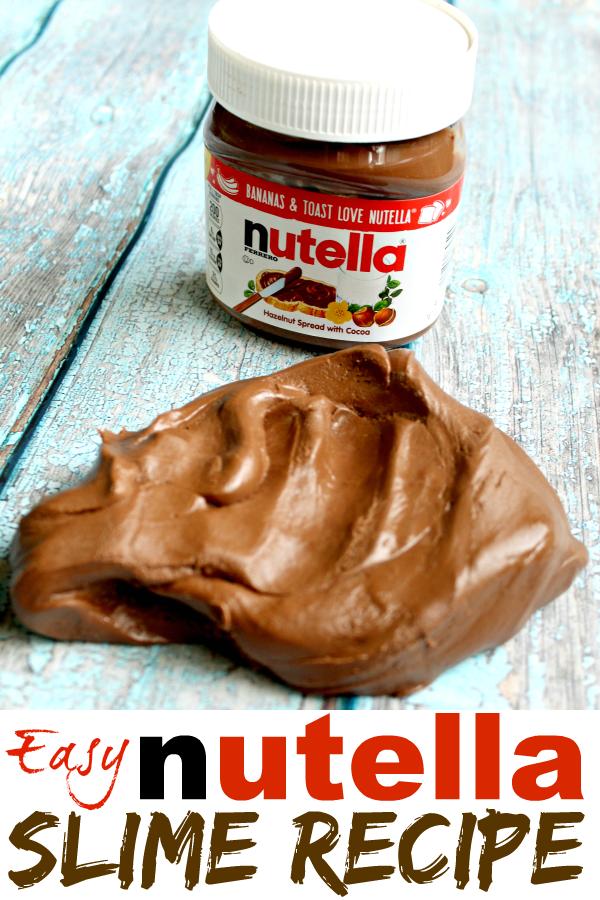 Easy Nutella Slime Recipe