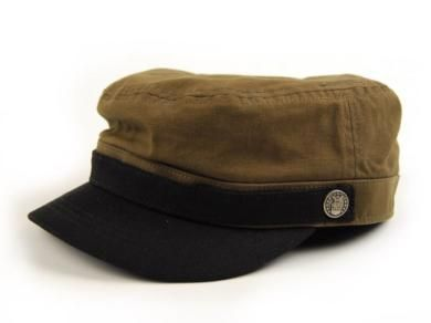 Brixton Busker Hat Olive Canvas Use Your Head Hats