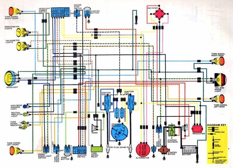 1972 honda cb350 wiring diagram  best image plazzle