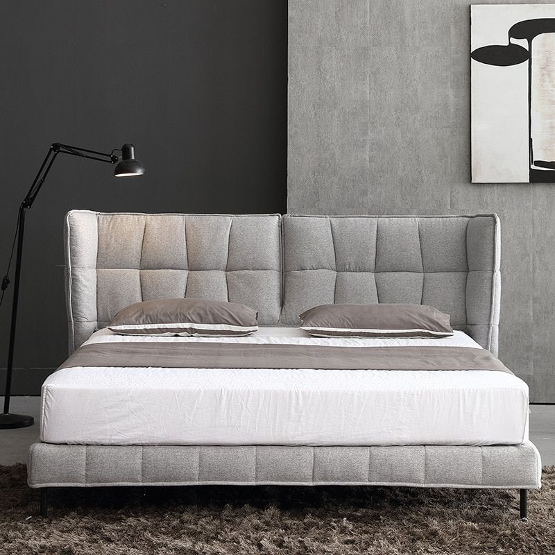 Cbmmart firm plywood frame big size soft bedin bedroom