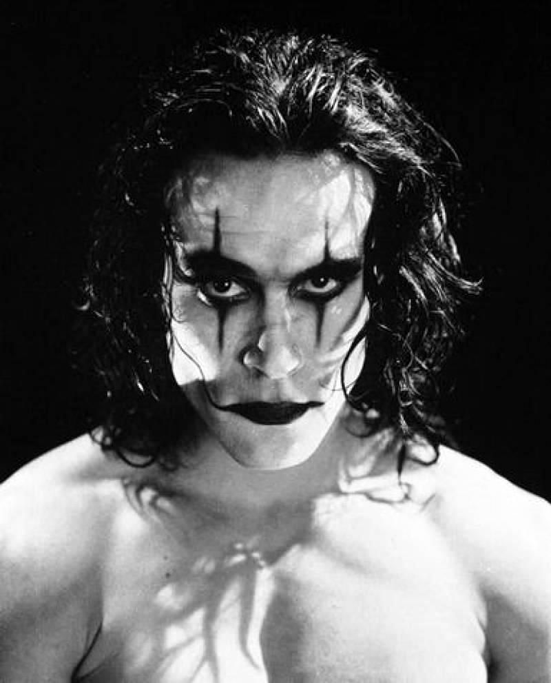 Brandon Lee, The Crow (El cuervo), 1994.