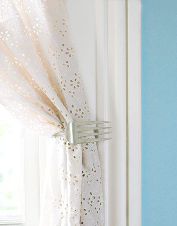 Dishfunctional Designs Upcycling Old Forks Into Unique & Unusual Enchanting Unique Kitchen Curtains Review