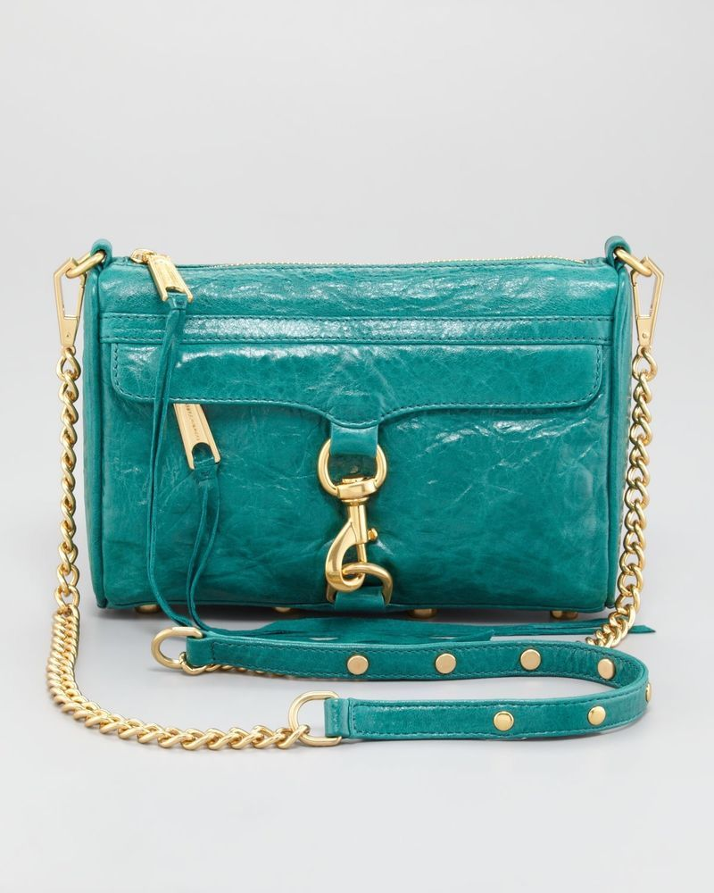 3765f5f9e7e6 REBECCA MINKOFF LEATHER MINI MAC CROSSBODY IN BLUE(Previously Owned)   fashion  clothing  shoes  accessories  womensbagshandbags (ebay link)