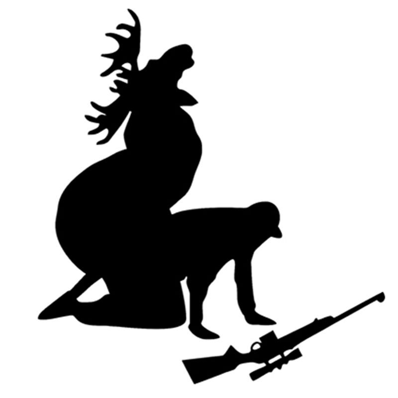How Ya Like My Meat Now Funny Moose Hunting Hunter Car Window - Window stickers for trucks hunting