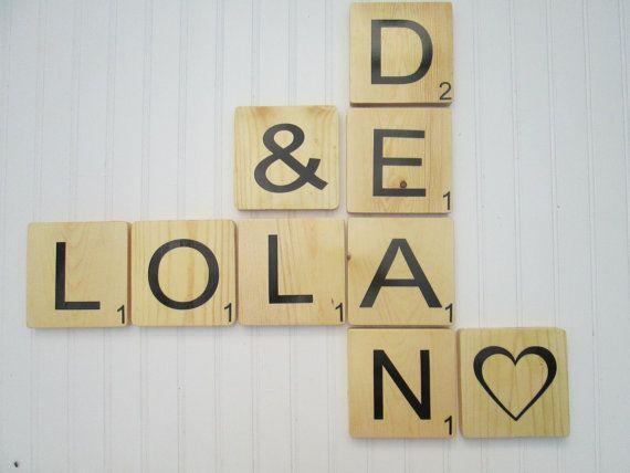 Scrabble Wall Tiles, Scrabble Letters, Scrabble Wall Art, Wall ...