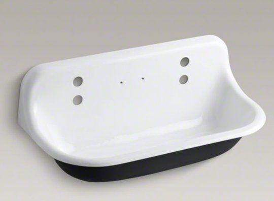 Brockway wall-mounted utility sink, $1,511.05 from Kohler