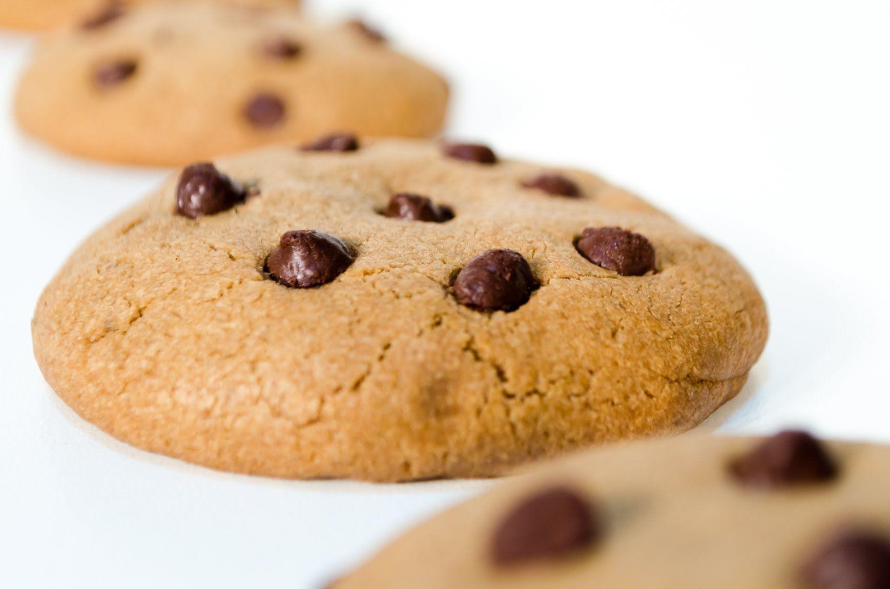 Cookies con Chips de Chocolate - Receta de Galletas con Chispas de ...
