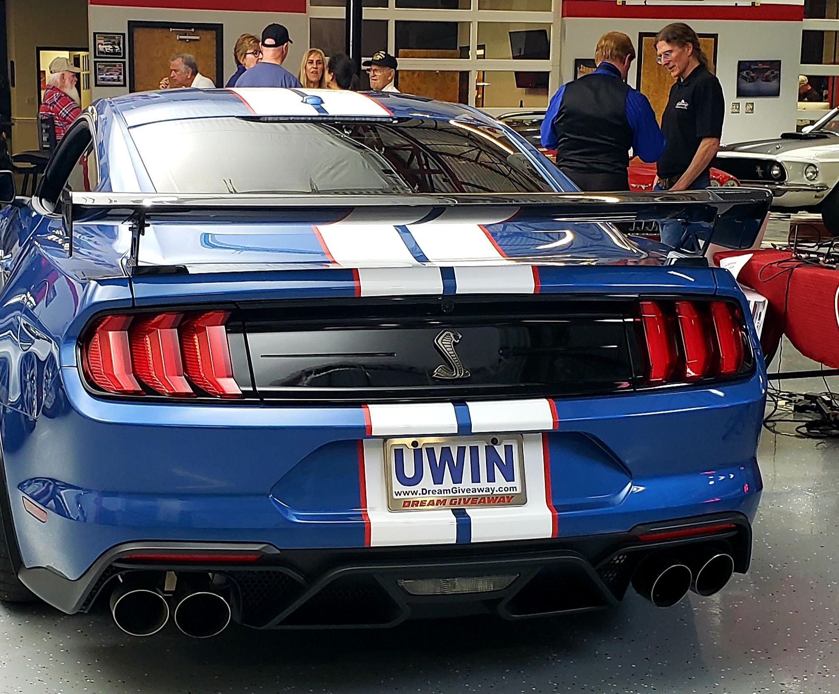 2020 Shelby Gt500 Blue In 2020 Shelby Gt500 Shelby Dream Giveaway