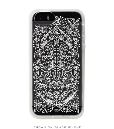 Clear Lace iPhone 5 Case