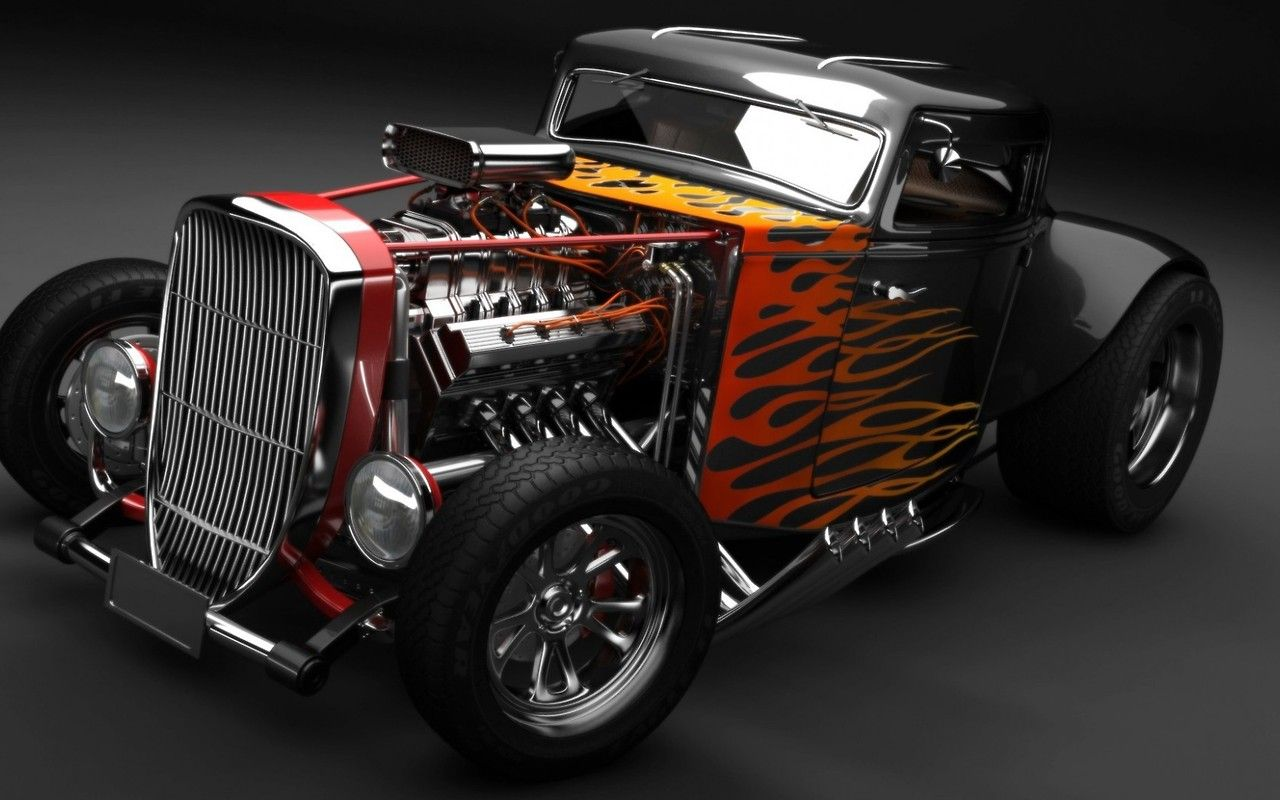 Old School Hot Rod | Cars, Rats and Muscles
