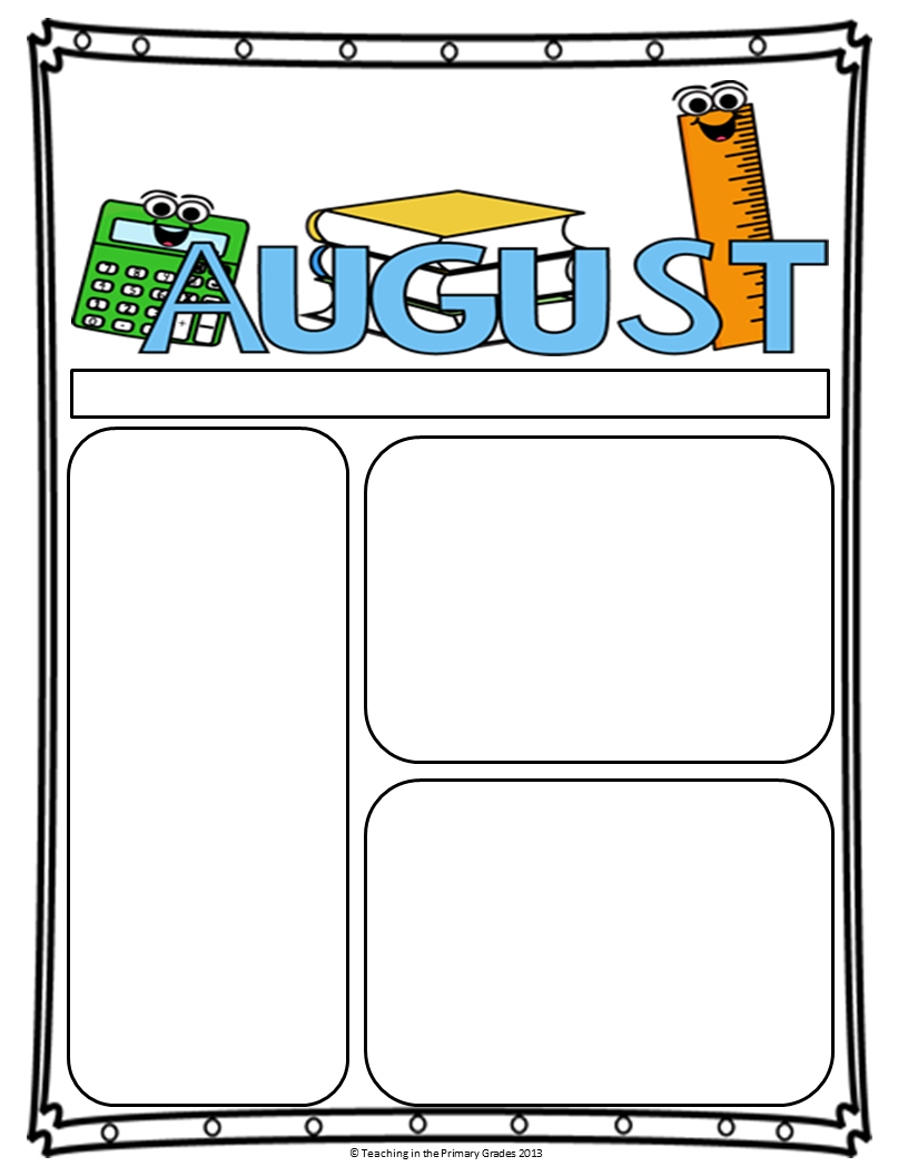 Classroom Newsletter Templates Newsletter Templates School And