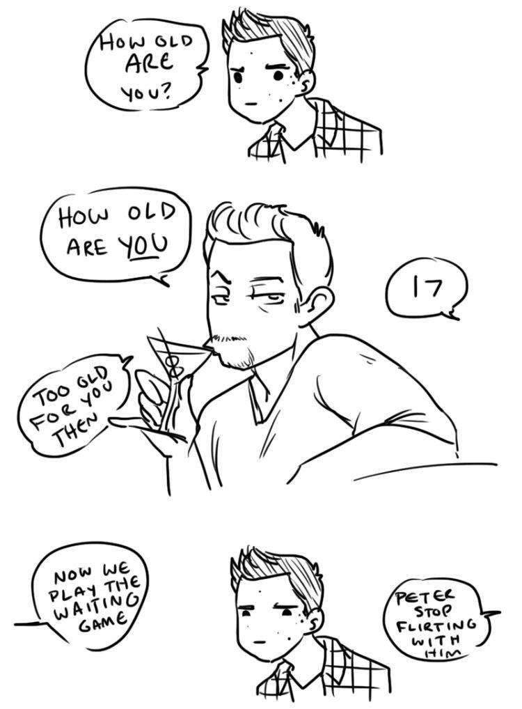 Sterek Comic