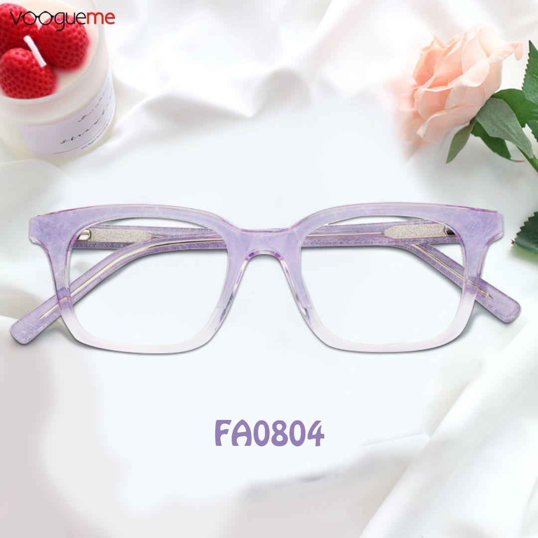 0527f12c50 Richeldis Cat Eye Purple Eyeglasses FP0660-01