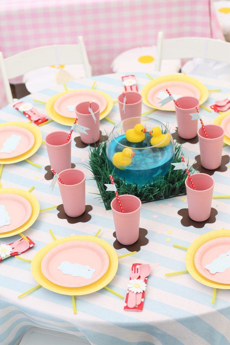 Sunshine & Muddy Puddles Peppa Pig Birthday Party - Project Nursery
