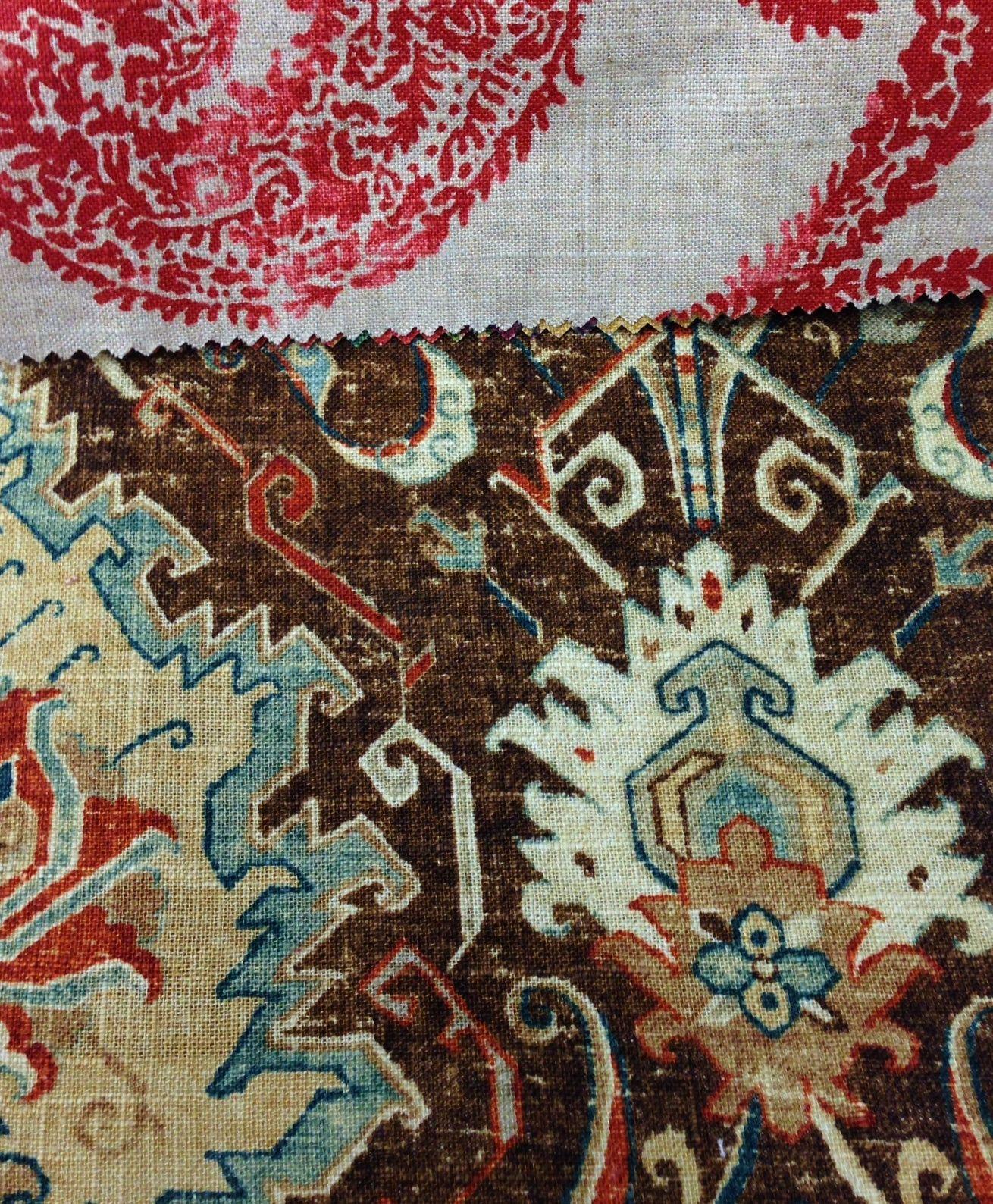 Top: Vinland Estate, Henna Red. Bottom: Casa Mila, Wild Turkey.