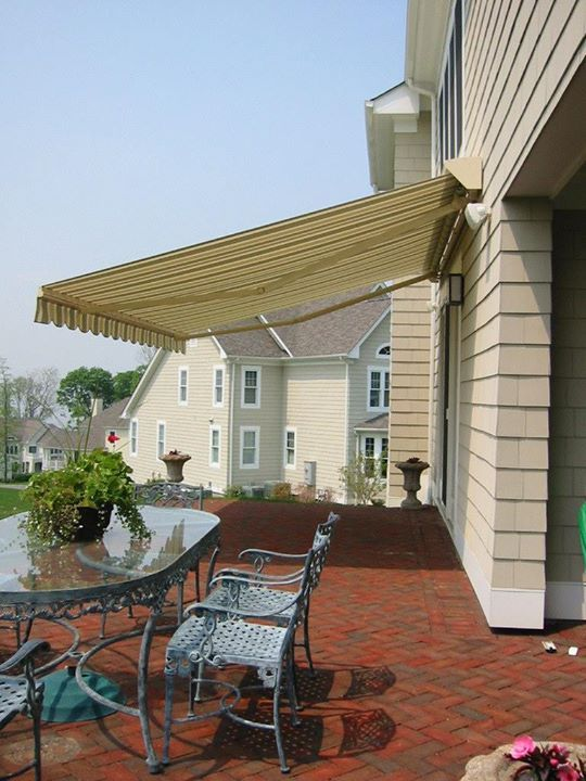 Wall Mount Retractable Awnings Can Be Installed Within 2 Hours