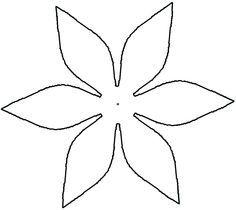 Metal Lilies Pattern Flower Templates Printable Flower Petal Template Flower Template