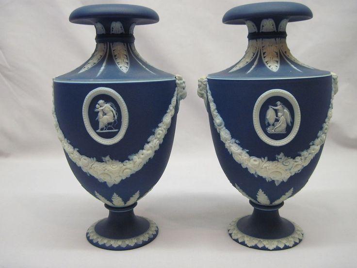 Image Result For Pair Antique Wedgwood Vases Antique Jasperware