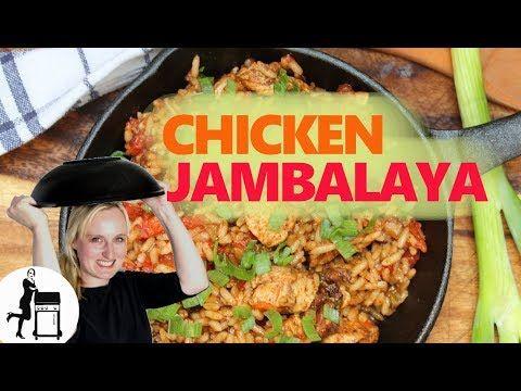 Chicken Jambalaya: feuriges US-Südstaaten Hühnchen-Reisgericht