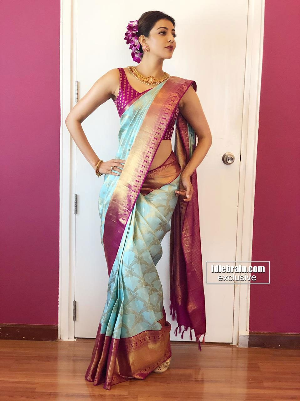 Pin By Kajal Aggarwal On Kajal Wedding Saree Indian Indian Gowns Dresses Traditional Dresses