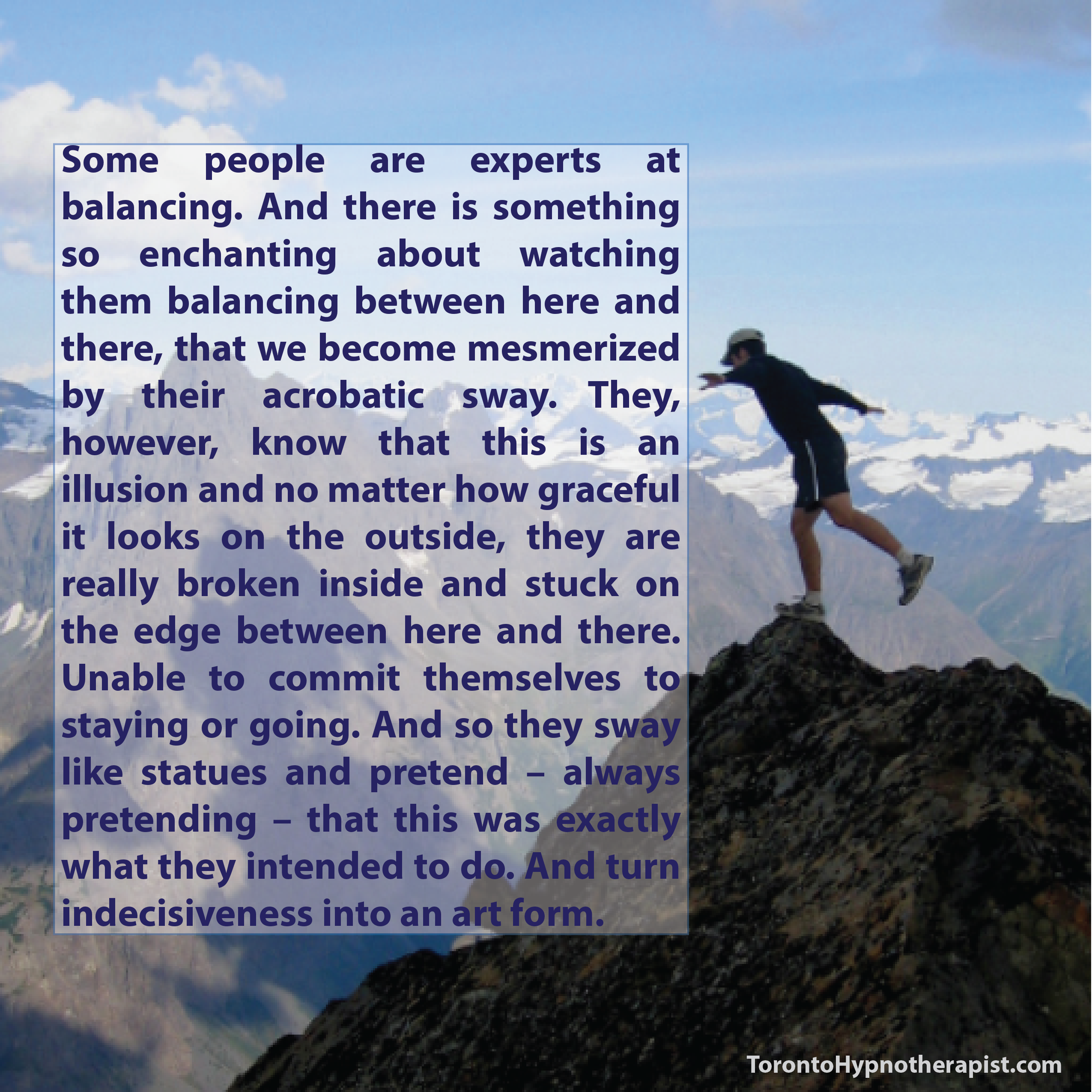 Some people are experts at balancing. And there is something so enchanting about…