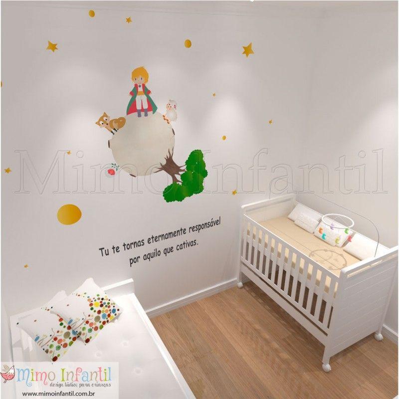 Artesanato Com Tecido De Juta ~ Adesivo Pequeno Príncipe Decoraç u00e3o de Quarto Infantil e Beb u00ea okul boyama Pinterest