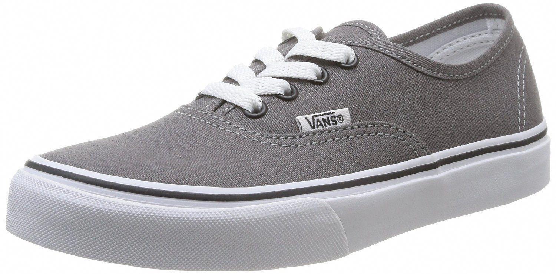 VANS AUTHENTIC ROUGE Blanc Canvas Unisex Skate Sneakers