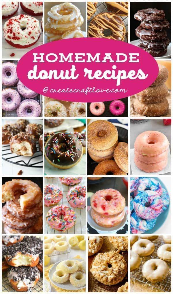 Hausgemachte Donut-Rezepte   - Donut Recipes -