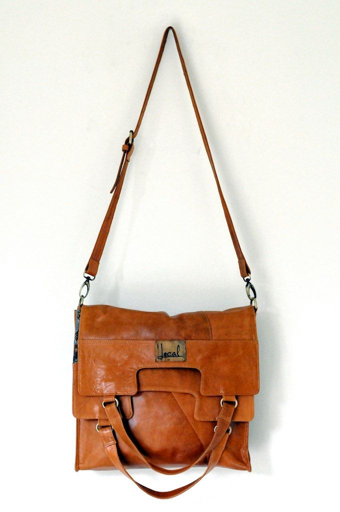 fba4df130 MI-VIDA. Fold over leather bag / cross body bag. Available in different  leather colors.. $210.00, via Etsy.