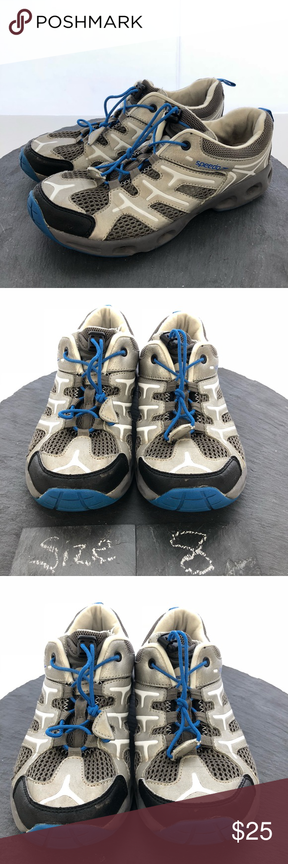 2f49a59c4843 Speedo hydro comfort water shoes men s size 8 The product you are  purchasing is a pair of Speedo Men s water shoes size 8. These shoes are in  good condition ...