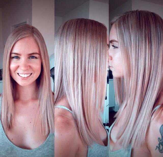 organic blonde hair dye