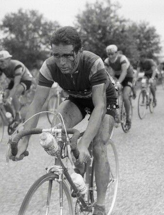 Old school cycling.......