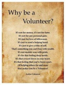 Volunteer poem Volunteer appreciation quotes, Volunteer