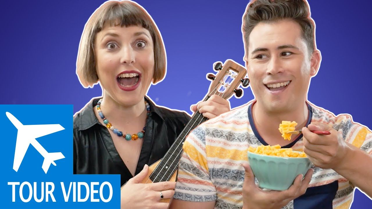 Macaroni and Cheese by Alina Celeste with Ty the Pie Guy - Kids Songs