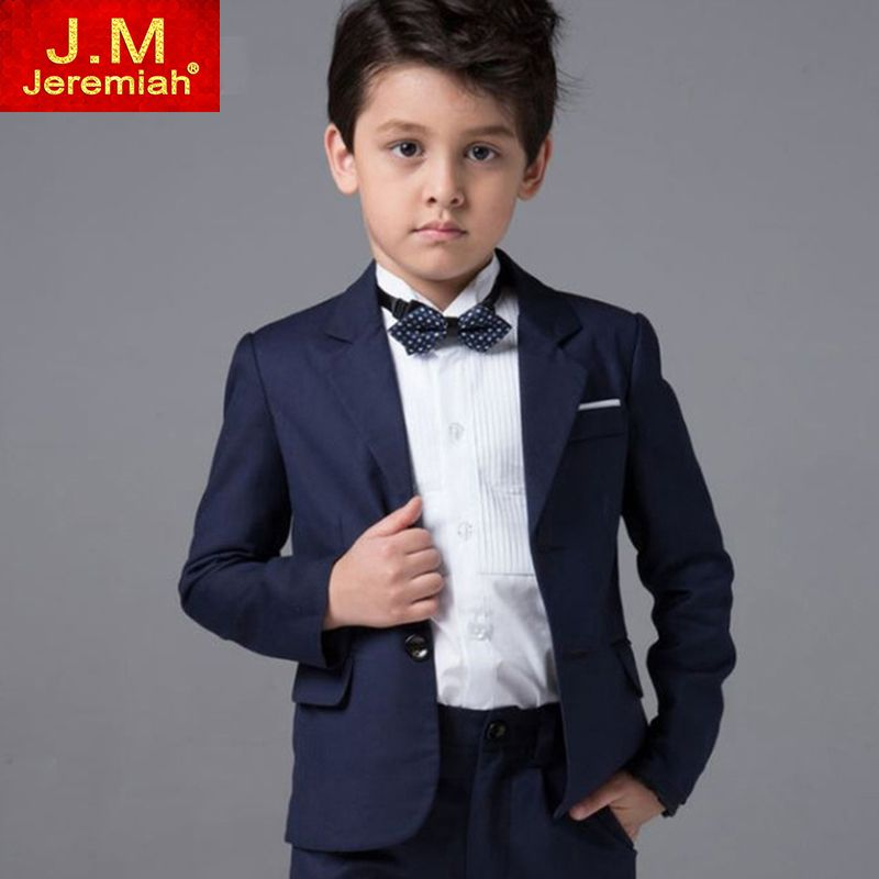 JEREMIAH High Quality Boys Suits for Wedding Blue Blazer Suits for ...