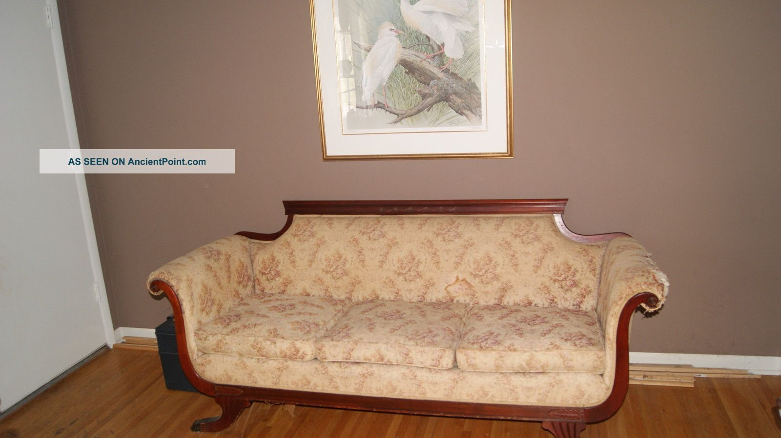 Early 1900 Furniture Styles | Duncan Phyfe Sofa Early 1900 U0027 S 1900 1950  Photo