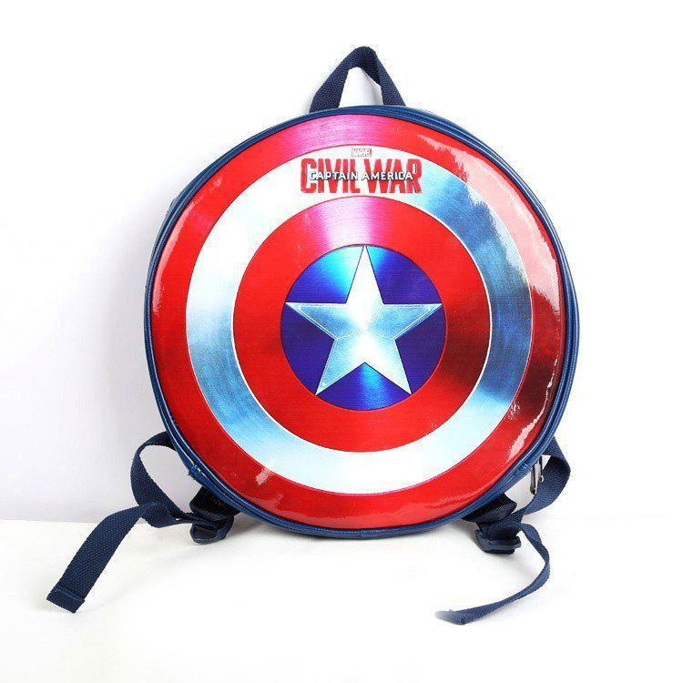 86ca9e2ad150 MARVEL CIVIL WAR Captain America Shield Backpack   Price   64.00   FREE  Shipping     manga  animes  movie  onlinestore  fans  movies