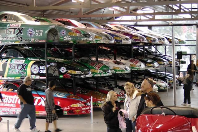 In John Force S Race Shop Really Really Amazing