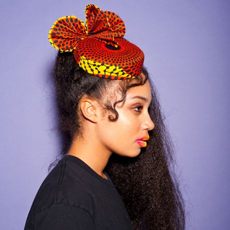 african fabric hat I want!!