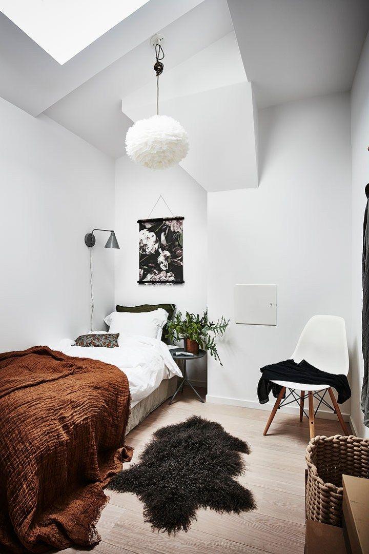 Mini ático Sueco De 24 M Con Terraza Decoración