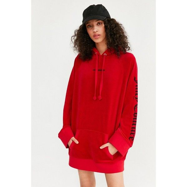 890d0fc7c32a Juicy Couture For UO Oversized Velour Hoodie (3