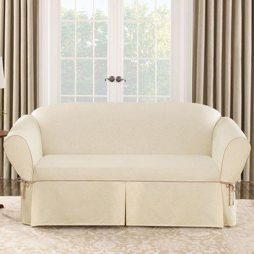 Found It At Wayfair Ca Cotton Duck Sofa Slipcover Slipcovered Sofa Slipcovers Slip Covers Couch