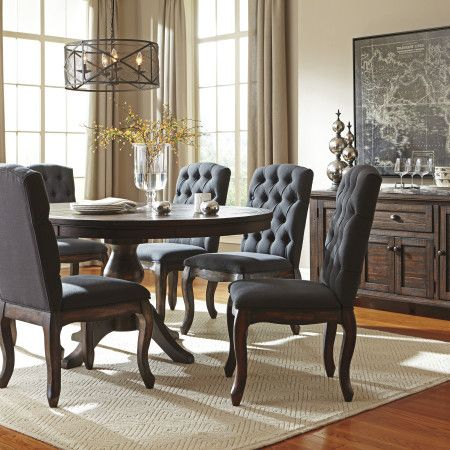 Ashley Trudell Oval Dining Set Dream Rooms Furniture Round