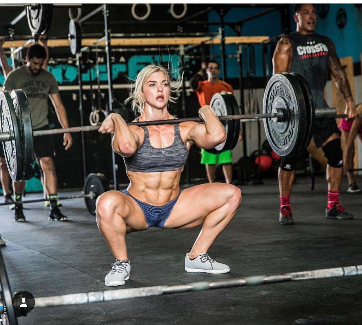 Front squat crossfit girls