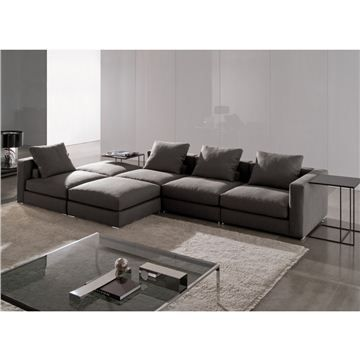 Superior Minotti Jagger High Back And High Armrest Sectional Sofa   Style #  JAGH104D JAG195C, Leather Sectional Sofa U0026 Contemporary Leather Sofa |  SwitchModern