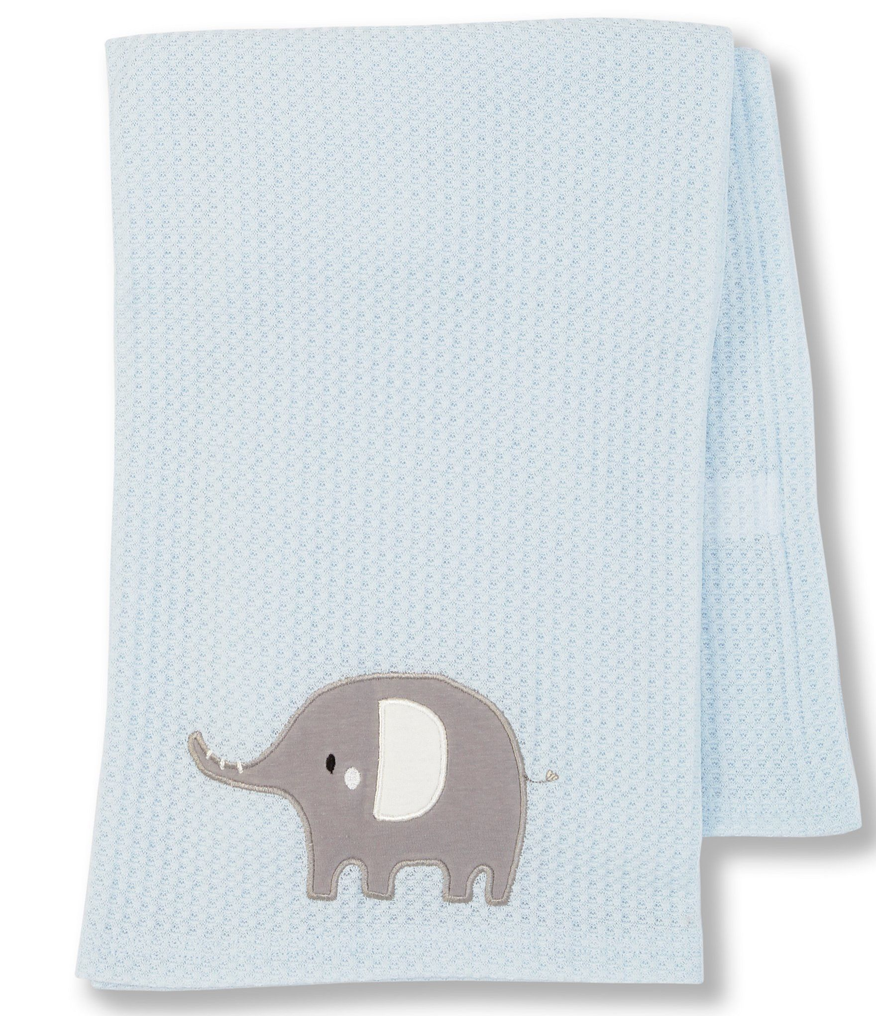 Photo of Starting Out Baby Boys Elephant Waffle-Knit Blanket | Dillard's