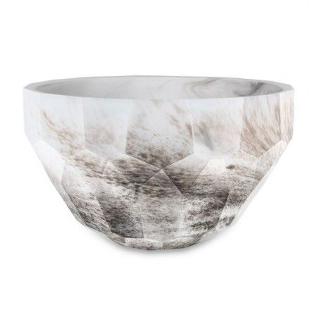Diva Bowl In White Marble Mod Japonica Marble Bowl Kosta Boda Bowl