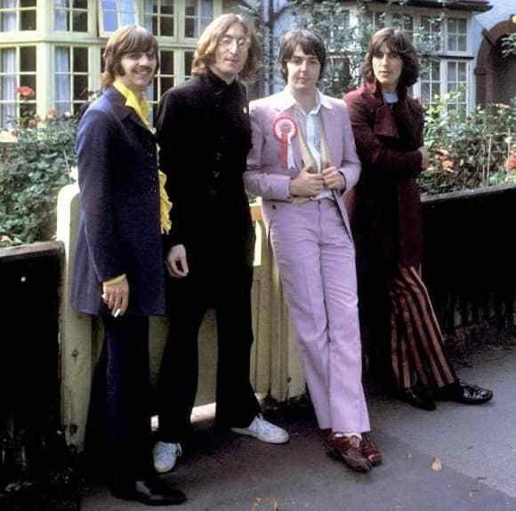 Photo session The Mad Day Out  The Beatles
