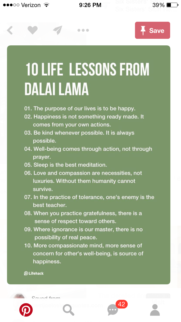 Inspirational Quotes About Life Lessons Pinzofia On Sentencje  Pinterest  Dalai Lama Buddha And